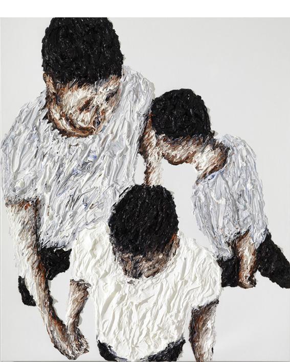 Oil on canvas, 190x160cm