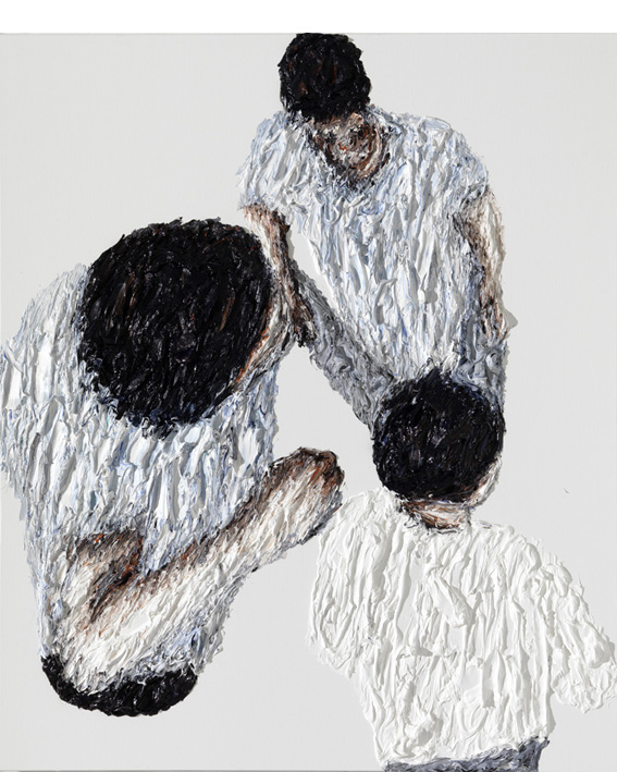 Oil on canvas, 190x60cm